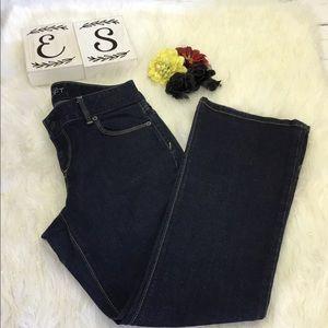 Loft Women's Curvy Boot Cut Classic Jeans